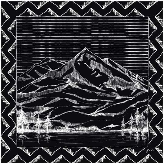 mountain-drawing-black-jai-scarf