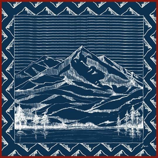 mountain-drawing-blue-jai-scarf