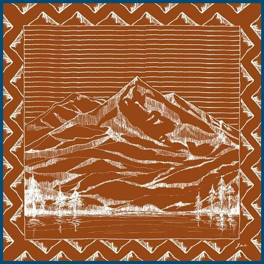 mountain-drawing-orange-jai-scarf