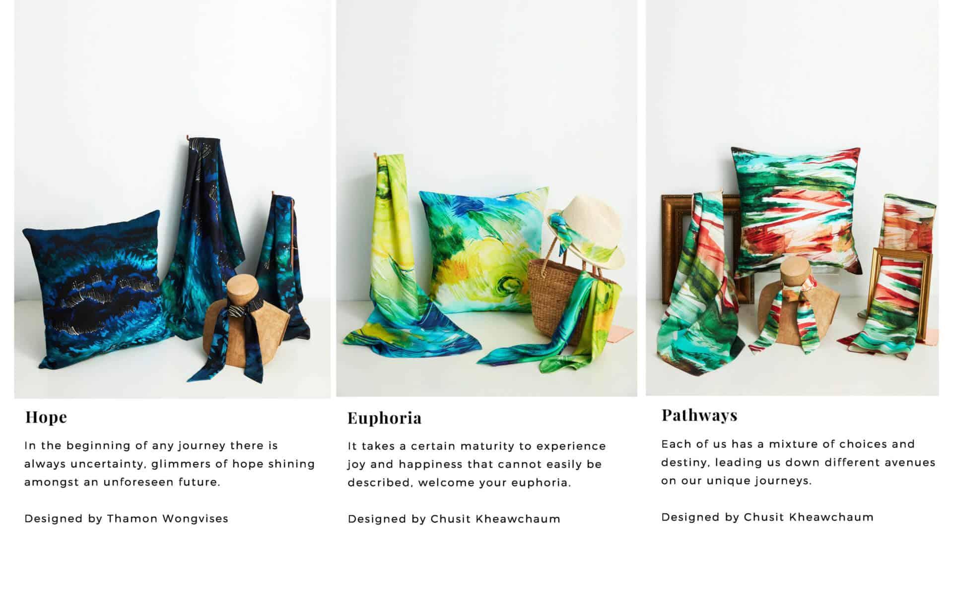 Jai Craft Design Official Website Beautiful Scarves Elderly Thai